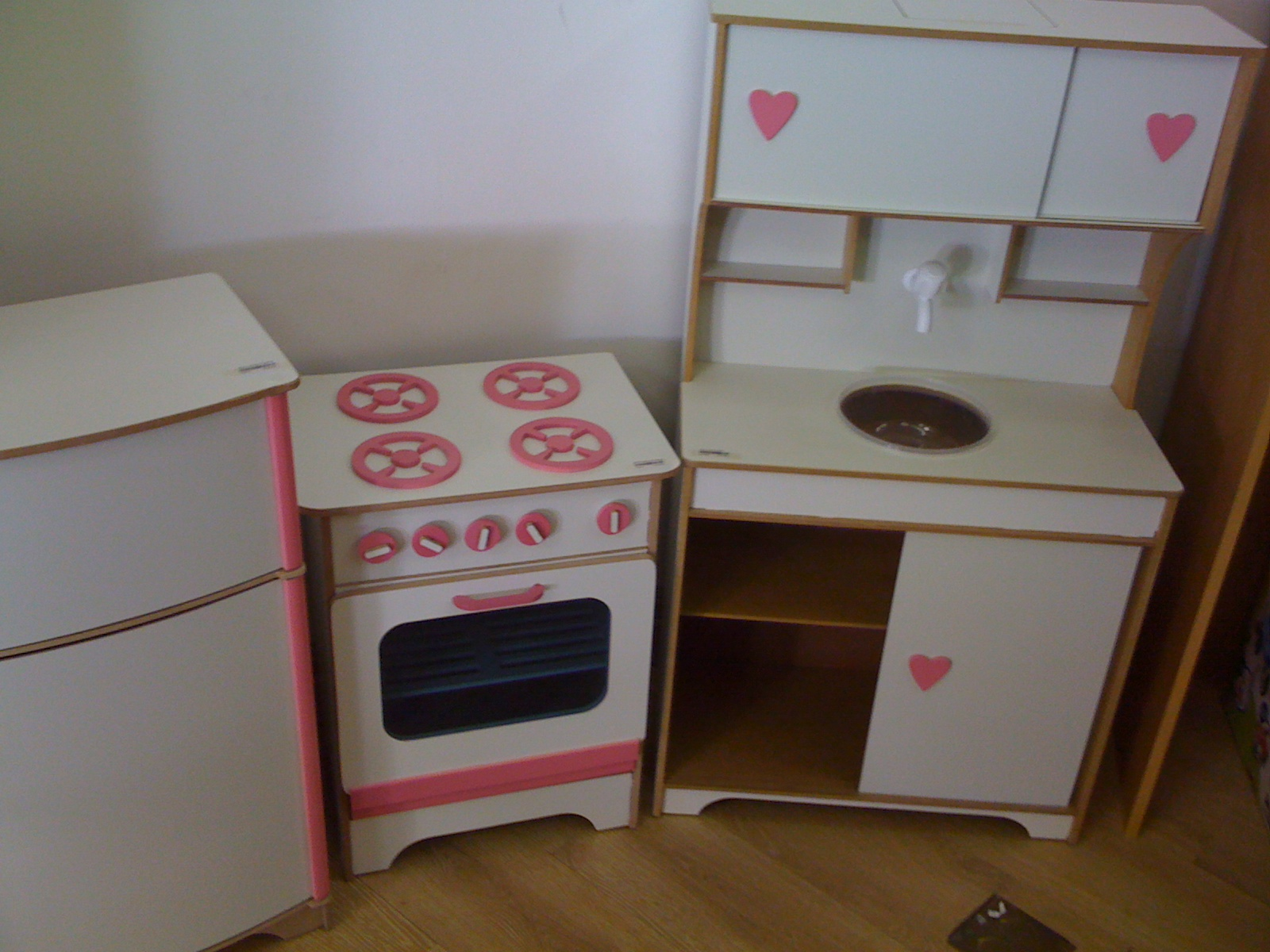Cozinha Infantil De Madeira Resimden Com