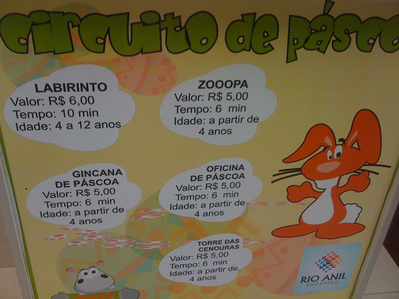 brincadeiras de pascoa : P?scoa 2011 com atividades no shopping It Babies