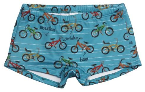 Alphabeto sunga estampa Bike - R$ 29,95