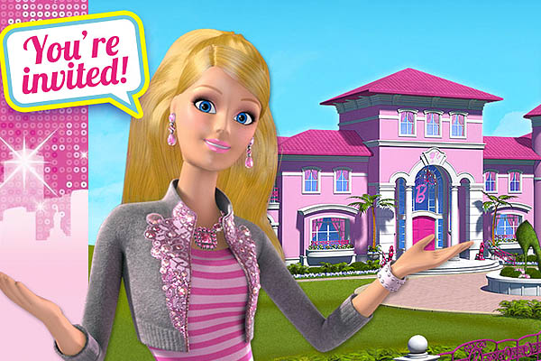 Novidade barbie the dreamhouse experience