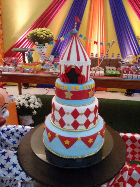 O bolo lindo!