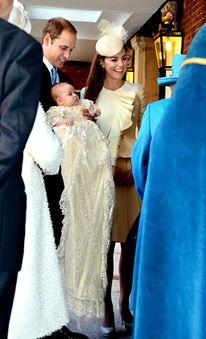O bebê com o tradicional mandrião: tão lindo e chique!