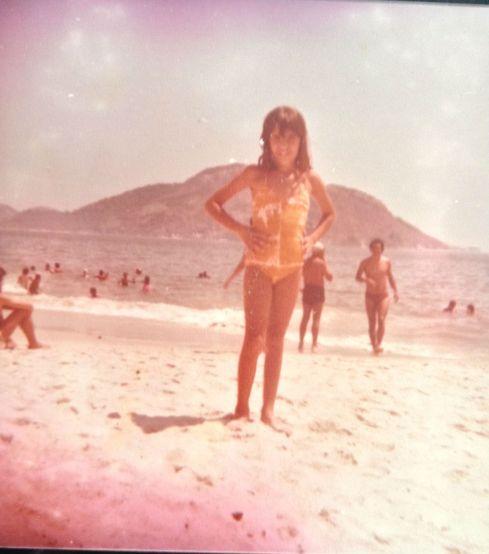 Não lembro se essa praia era no RJ ou em Niterói!