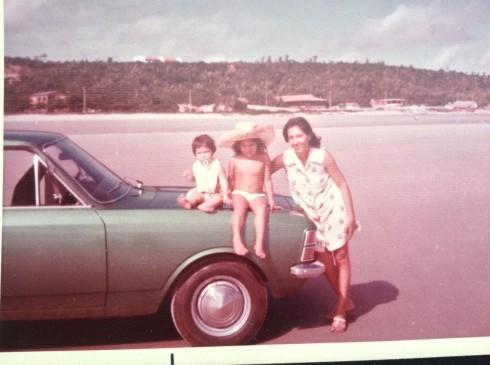 Desde que chegamos em São Luís, a praia sempre foi nosso programa favorito!