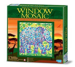 Kit de Mosaico de Janela Safári