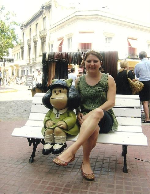 Mafalda e eu