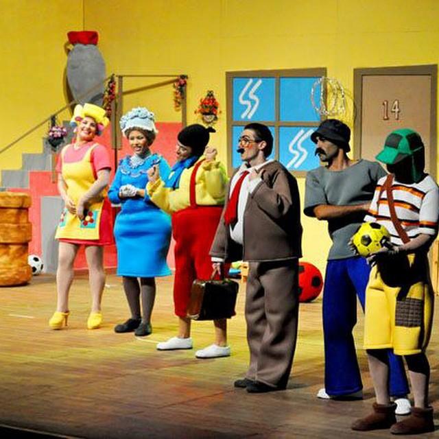 Teatro infantil em SLZ: Turma do Chaves   It Babies