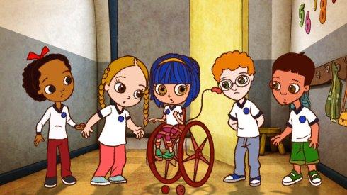 Personagens da animação