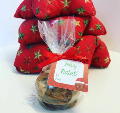 Pacotes com 3 cookies tradicionais - R$ 5